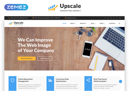 Marketing Multipage HTML