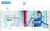 """Clinic - Medical Service Multipage HTML5"" modèle web adaptatif"