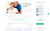 Clinic - Medical Service Multipage HTML5 Website Template Big Screenshot