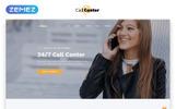 """Website Vorlage namens """"Call Center Multipage HTML5"""""""