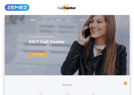 Call Center Multipage