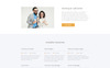 Call Center Multipage HTML5 Website Template Big Screenshot