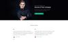 Responsive Website Vorlage für Beratung  Großer Screenshot