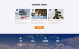 Responsivt WinTravel - Winter Tourism Responsive Multipage Hemsidemall