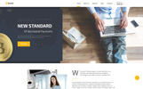 Responsivt Bitcoin - Elegant Bitcoin HTML Landing Page-mall