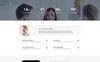 Responsivt Bitcoin - Elegant Bitcoin HTML Landing Page-mall En stor skärmdump