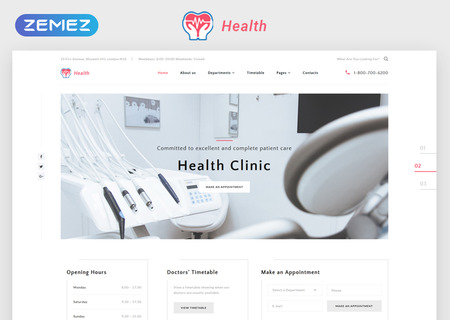 Clinic Multipage HTML5