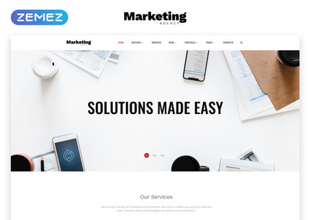 Marketing Agency Multipage HTML