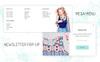 EVA - AMP Fashion Store Magento Theme Big Screenshot