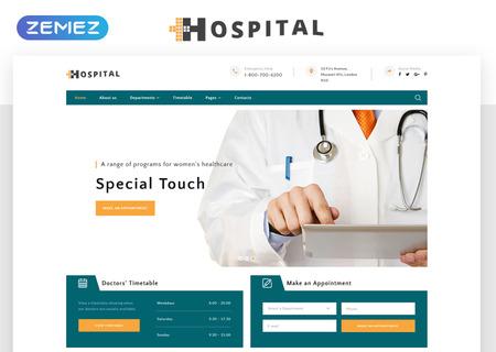 Medical Service Multipage HTML