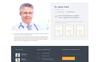 Hospital - Medical Service Multipage HTML5 Website Template Big Screenshot