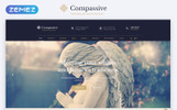"Website Vorlage namens ""Compassive - Cemetery & Funeral Services HTML5"""