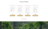 Responsivt Compassive - Cemetery & Funeral Services HTML5 Hemsidemall