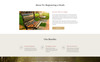 "Website Vorlage namens ""Compassive - Cemetery & Funeral Services HTML5"" Großer Screenshot"