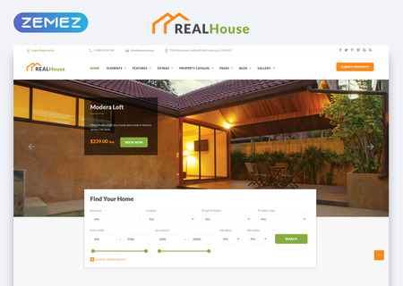 Real Estate HTML5
