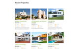 Responsivt RealHouse - Real Estate Multipage HTML5 Hemsidemall