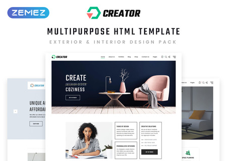 Design Multipurpose HTML5