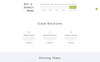 Cloud - Domain and Hosting Multipage Template Web №69524 Screenshot Grade