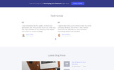 Management Company - Elegant Business Consulting Company Website Template