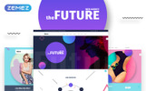 """The Future - Web Design Multipurpose HTML5"" Responsive Website template"