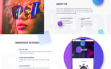 Responsywny szablon strony www The Future - Web Design Multipurpose HTML5 #69536