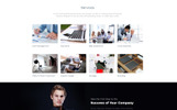 Promo - Advertising Agency Multipage HTML5 Template Web №69547