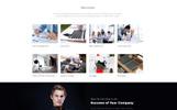 Responsywny szablon strony www Promo - Advertising Agency Multipage HTML5 #69547