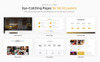Lunar Cafe - Tema di Elementor WordPress per Sito di Cafe & Ristorante  Screenshot grande