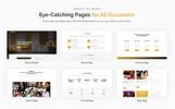 Lunar Cafe - Kafe ve Restoran Elementor WordPress Teması