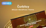 Curbitcy - Bitcoin érkezési oldal Elementor WordPress téma
