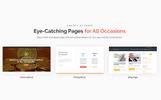 WordPress-tema för Finans