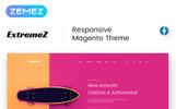 Responsivt Magento-tema för BMX