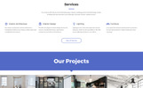Template Web Flexível para Sites de Feng Shui №69593