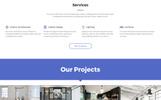 "Website Vorlage namens ""Space Studio - Interior Design Multipage HTML5"""