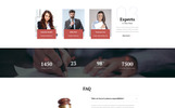 Template Web Flexível para Sites de Advogado №69596