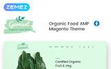 "Magento Theme namens ""Garrient Organic Food"""
