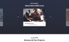 Tanos - Business Responsive HTML Landing Page Template Big Screenshot