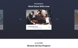Responsivt Tanos - Business Responsive HTML Landing Page-mall