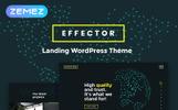 Effector- Landing Page Elementor WordPress Theme