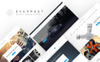 """Eveprest Spare Parts 1.7 - A Better Way Forward"" thème PrestaShop adaptatif Grande capture d'écran"