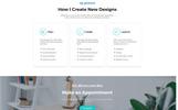 "Landing Page Template namens ""Reposer - Eye-Catching Portfolio HTML"""