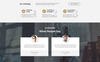 Justice - Attorney Agency HTML5 Landing Page Template Big Screenshot