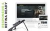 Reszponzív Fegyverbolt  PrestaShop sablon Nagy méretű képernyőkép