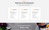 """Restaurant - Cafe & Restaurant Services HTML5"" Responsive Landingspagina Template"