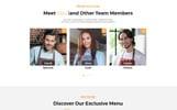 """Шаблон посадочной страницы """"Restaurant - Cafe & Restaurant Services HTML5"""""""