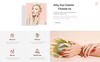Blameless - Nail Salon Multipage HTML5 Website Template Big Screenshot
