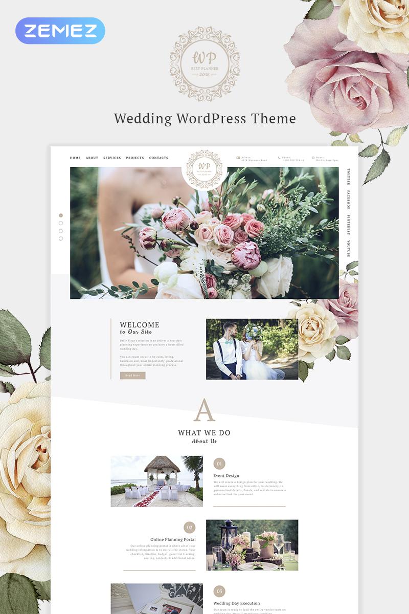 Адаптивный шаблон №69993 на тему мода и красота, свадьба, свадебный альбом