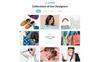 Responsive InLook - Fashion HTML5 Açılış Sayfası Şablonu Büyük Ekran Görüntüsü