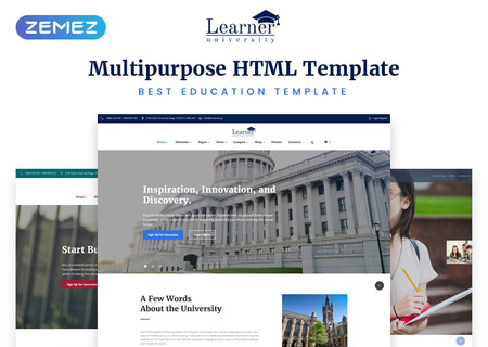 Multipurpose Education HTML5