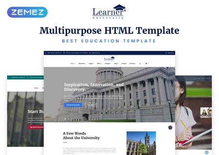 Multipurpose Education HTML5